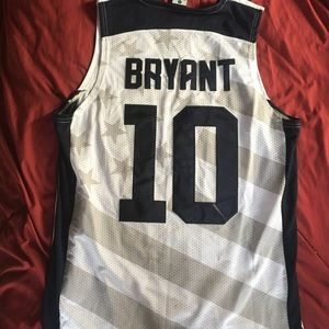Kobe Bryant USA jersey